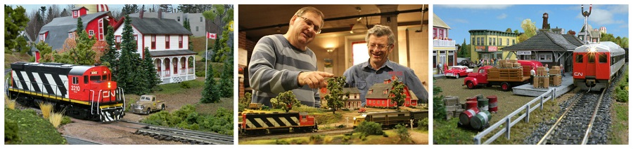 Moncton Model Railroad Society - Collage